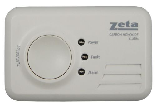 Domestic LED CO Alarm - 6 year battery (BSI Approved)
